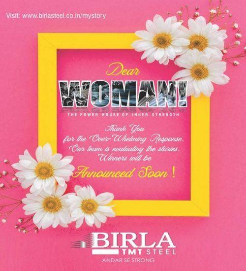 Birla Woman days Winnres 600x720